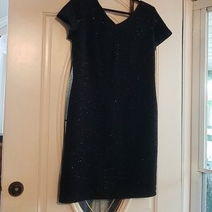 Sequined black Evening dress by M.H.M.